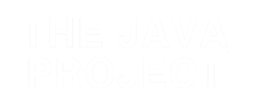 TheJavaProjectLogoWhite